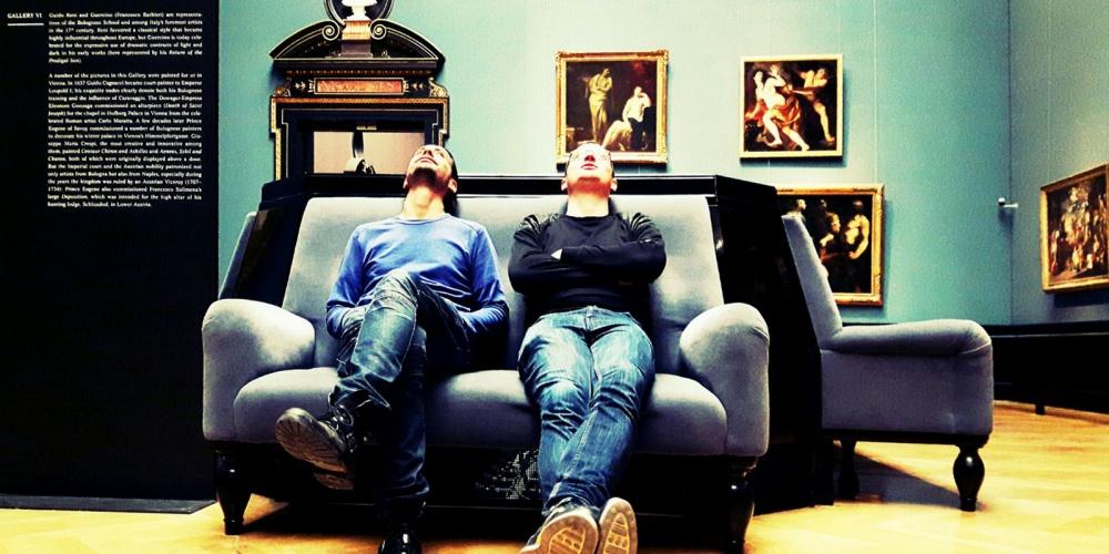 Alexander Jöchl & Wolfgang Tragseiler @ Kunsthistorischen Museum Wien, jöchlTRAGSEILER, Künstler, Artists, Vienna