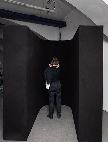 visiting Velazquez - das weisse haus wien - audio installation - exhibition display